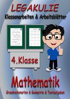 Arbeitsblätter Übungen Mathematik 4.Klasse Aufgaben Übungsblätter
