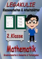 Mathematik Arbeitsblätter 2.Klasse Übungen Aufgaben Lösungen