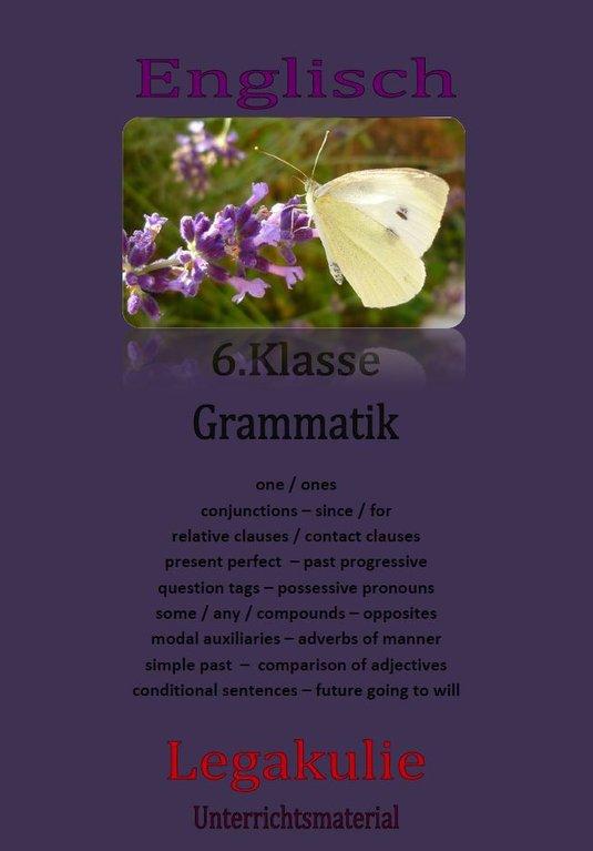 Englisch 6.Klasse Grammatik / 6th grade grammar PDF