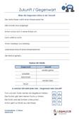 Zukunft / Gegenwart Deutsch 4.Klasse Aufgaben PDF