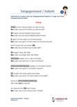 Satzgegenstand / Subjekt 3.Klasse Deutsch Übungen