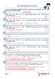 Geometrie Körperberechnung Arbeitsblatt Übungen PDF