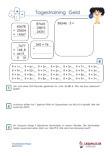 Tagestraining Geld / Euro Mathematik 4.Klasse PDF