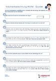 Volumenberechnung Würfel Quader Übungen PDF