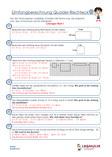 Geometrie Umfangsberechnung Arbeitsblatt Übungen PDF