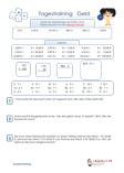 Tagestraining Einheiten 3.Klasse Mathematik Übungen