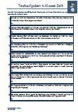 Textaufgaben Zeit / Uhr / Alter Mathematik 4.Klasse