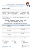 Nomen Namenwörter Klassenarbeit Schulprobe PDF