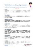 Großschreibung 2.Klasse Arbeitsblatt Übungen PDF