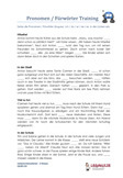 Pronomen / Fürwörter Deutsch 3.Klasse Übungen PDF