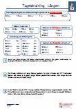 Schulprobe  Lernzielkontrolle 4.Klasse Mathe