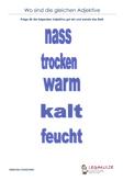 Gleiche - Adjektive 4.Klasse Deutsch Aufgaben PDF