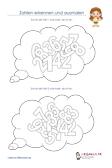 Zahlen Erkennen Ausmalen Mathematik 1.Klasse PDF