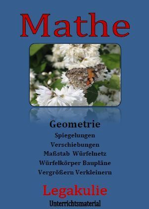 Geometrie Mathematik Schulprobe Übungsblätter PDF