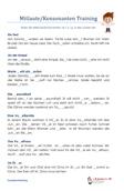 Mitlaute / Konsonanten V / v F / f Übungsaufgaben PDF