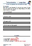 Leseproben / Textverständnis Grundschrift Übungen PDF