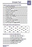 Simple Past Arbeitsblatt Übungen Englisch 6.Klasse PDF
