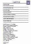 s-genitive Englisch 5.Klasse Übungen Schulprobe PDF