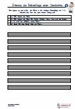 Reihenfolge Geschichten Vereinfachte Ausgangsschrift