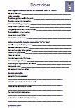 5.Klasse Grammatik / 5th grade grammar
