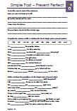 Simple Past Present Perfect Klassenarbeit PDF