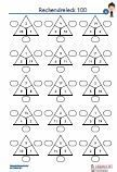 Rechendreieck - 100 Multiplikation