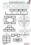 Zahlenorientierung - 10 Schulprobe Übungen PDF