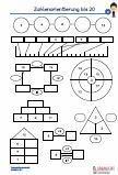 Zahlenorientierung - 20 Mathematik Übungsblätter PDF