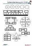 Zahlenorientierung 10 000 Übungen Klassenarbeit Mathematik