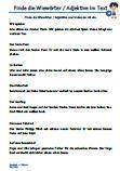 Adjektive / Wiewörter Text 1.Klasse Arbeitsblätter PDF