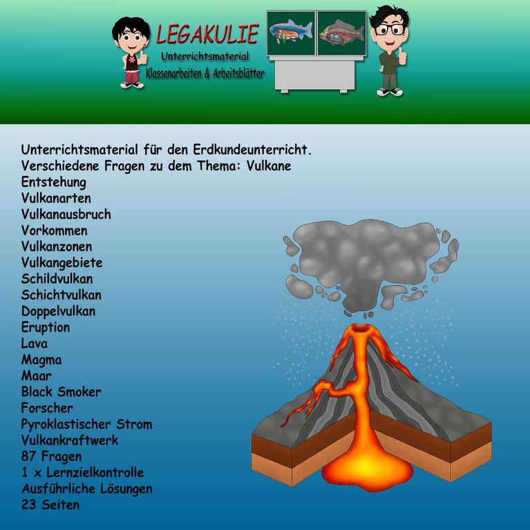 Vulkane Entstehung