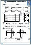1.- 4.Schulprobe  Lernzielkontrolle 2.Klasse Mathe