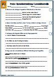 3. Schulprobe Lernzielkontrolle 4.Klasse Deutsch