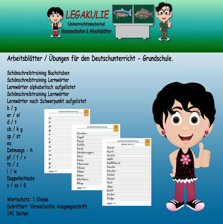 deutsch 1klasse sch246nschreibtraining pdf ausgangsschrift