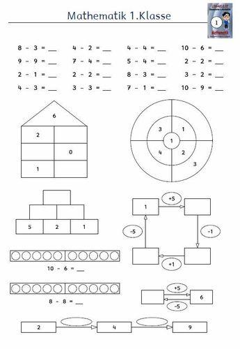 Kostenlose Arbeitsblätter Grundschule Übungen PDF