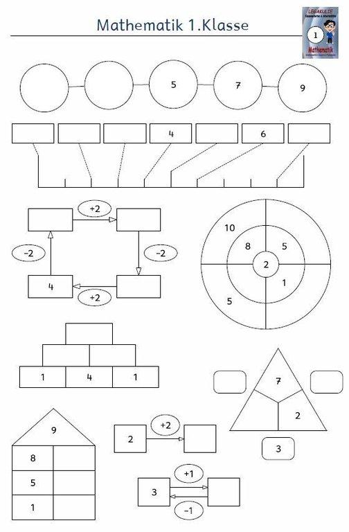 kostenloses arbeitsblatt 1 klasse mathe zahlenorientierung pdf. Black Bedroom Furniture Sets. Home Design Ideas